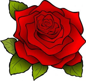 Simple Rose Clipart - Cliparts Zone