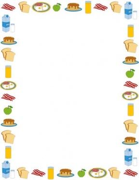 Summer Dessert Elements Border Set Royalty Free Cliparts, Vectors, And  Stock Illustration. Image 104973221.