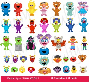 Grover Clip Art - Cliparts Zone