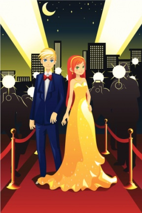 Red Carpet Clipart, Hollywood Clipart, Oscar Ceremony Clipart ...