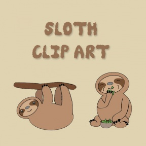 Free Sloth Clipart - Cliparts Zone