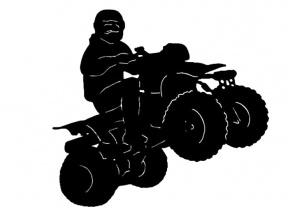 ATV 4 Wheeler Clipart - Cliparts Zone