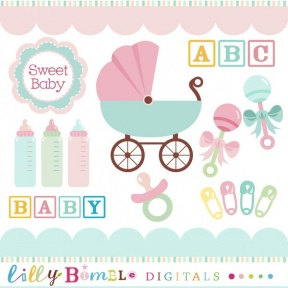 Image Of Baby Border Clipart Free Baby Shower Clip Art - Cliparts Zone