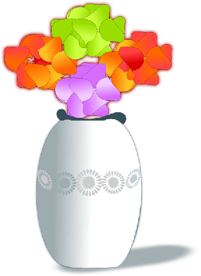 Vase Of Flowers Clip Art - Cliparts Zone