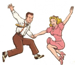 50s Sock Hop Clipart - Cliparts Zone