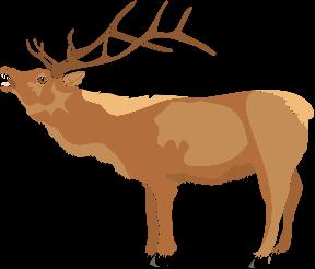 Dancing Reindeer Clip Art - Cliparts Zone